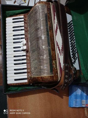 Vendo acordeon Mascarenhas - Foto 5