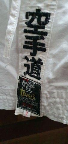 Kimono branco Tanari de luxo tam A3 - Foto 2