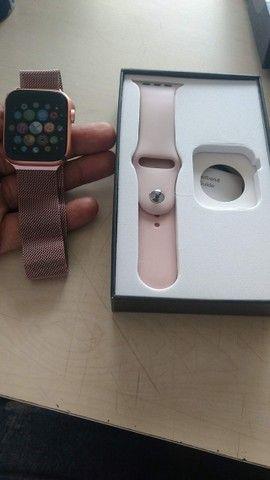 Smartwatch x7 - Troca foto, faz e atende chamadas - Foto 5