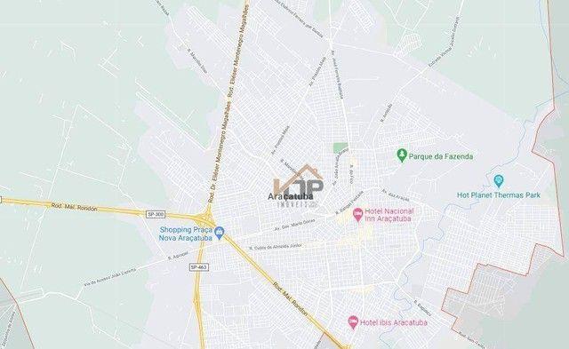 Terreno à venda, 6115 m² por R$ 181.425,01 - Água Limpa - Araçatuba/SP