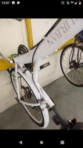 Bicicleta Tito Urban - Aro 700 - 21 Marchas, com paralamas - Foto 2