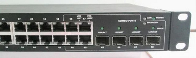 Switch Dell Powerconnect 2848 48p Giga + 4p Sfp Fibra - Foto 3
