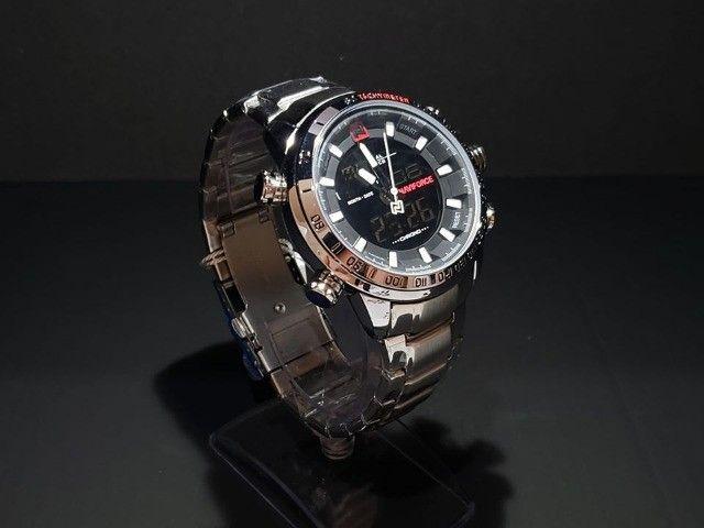 Relógios originais NaviForce Aço Inoxidável - 3atm!! - Foto 5