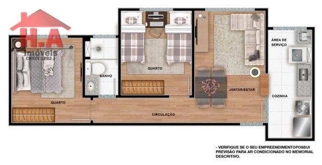 Apartamento à venda, 60 m² por R$ 189.690,00 - Passaré - Fortaleza/CE - Foto 17