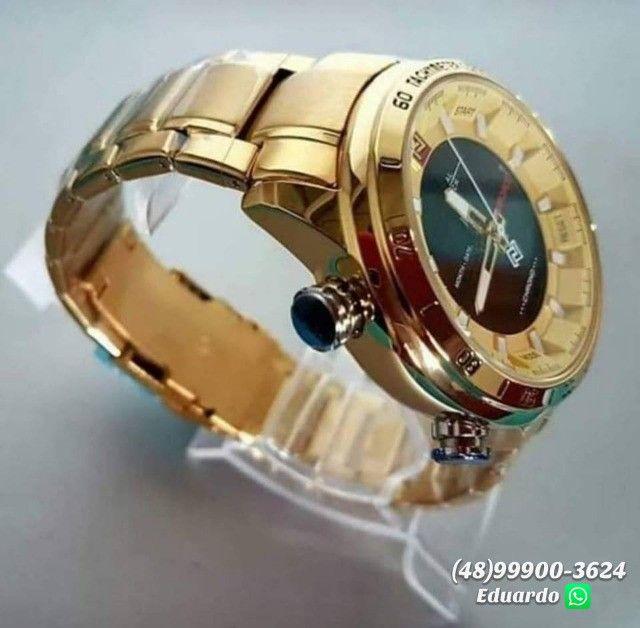 Relógios originais NaviForce Aço Inoxidável - 3atm!! - Foto 6