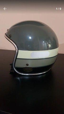 Capacete urban helmets + luva tamanho 56