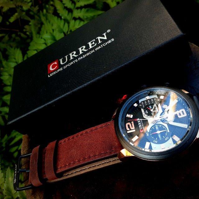 Relógio De Luxo À Prova D'água Curren Masculino