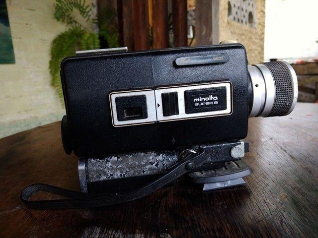 Câmera super 8 Minolta em excelente estado - Foto 3