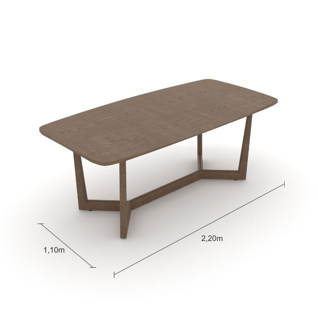 Mesa de jantar 2,20x1,10m - Foto 3