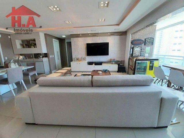 Apartamento com 3 dormitórios à venda, 136 m² por R$ 950.000,00 - Aldeota - Fortaleza/CE - Foto 3