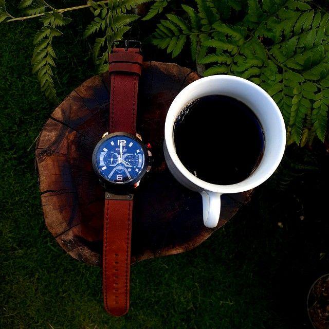 Relógio De Luxo À Prova D'água Curren Masculino - Foto 2