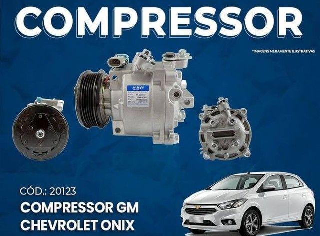 Compressor,Onix,Spin,prisma,Tracker,Evaporador,Condensador,Palio,uno,Siena,idea