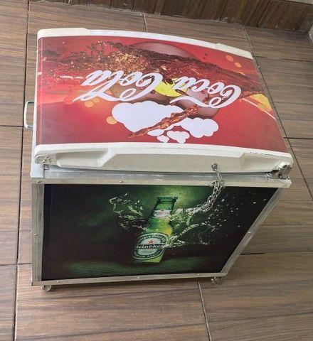 Cooler caixa térmica frigobar  - Foto 2