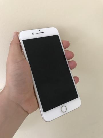 iphone 7 plus gold celulares e telefonia prata. Black Bedroom Furniture Sets. Home Design Ideas