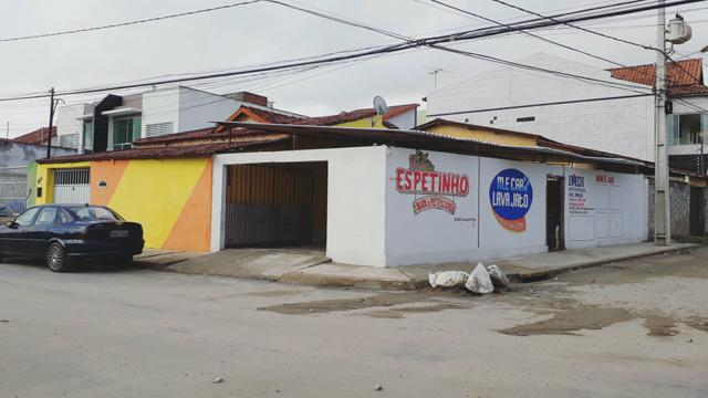 Casa + ponto comercial esquina novo cruzeiro
