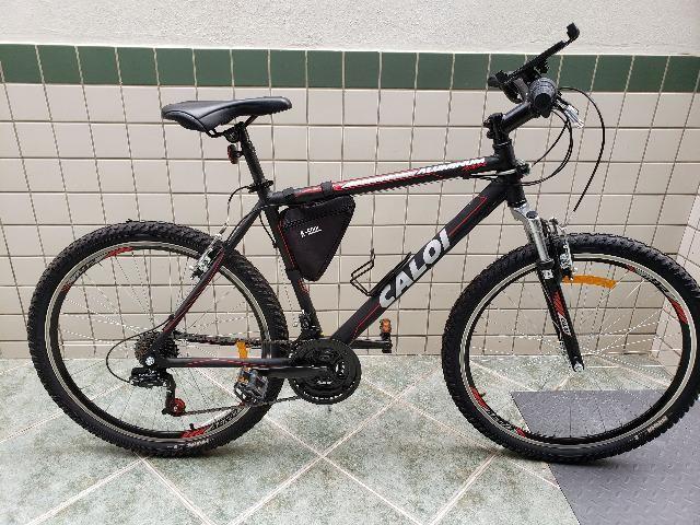 fff61552b Bicicleta Caloi Aluminum Sport Aro 26 com Suspensão Dianteira e 21 Marchas