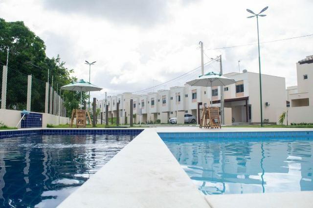 Vendo duplex 2/4 novíssimo em condomínio fechado com excelente área de lazer pelo mcmv - Foto 10