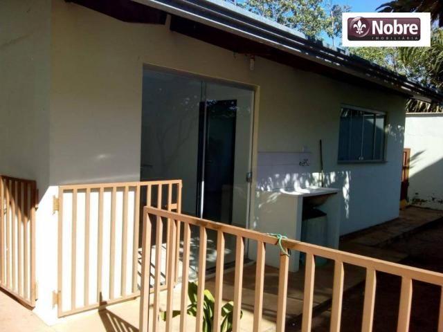 Casa com 1 dormitório para alugar, 35 m² por r$ 605,00/mês - plano diretor sul - palmas/to - Foto 2