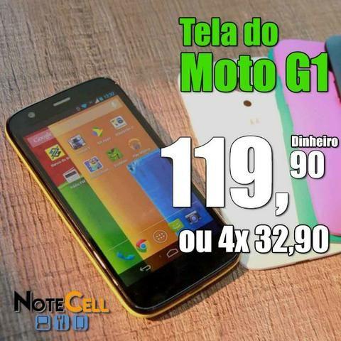 Tela do Moto G1 valor já instalado!