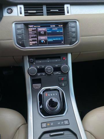 Range Rover Evoque Branca Interior Caramelo - Foto 6