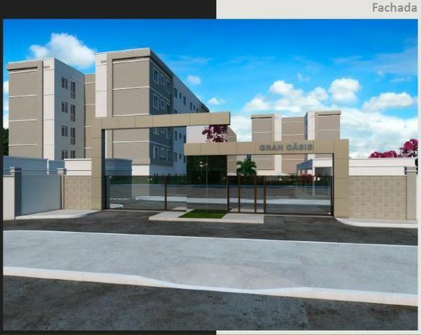 Apartamento 2Q Parque Macambira 100% financiado entrada facilitada - Foto 2