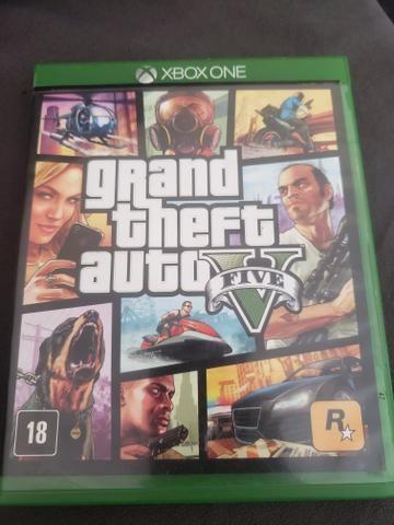 Gta 5 original Xbox one mídia física