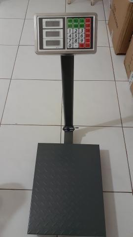 Balança plataforma comercial pesa 300kg - Foto 2