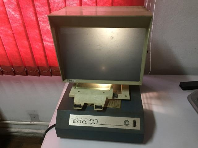 Leitor de microfichas - Foto 3