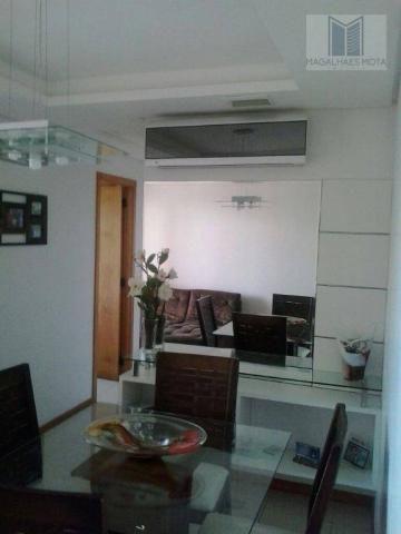 Apartamento com 3 dormitórios à venda, 80 m² por R$ 450.000 - Cocó - Fortaleza/CE - Foto 13
