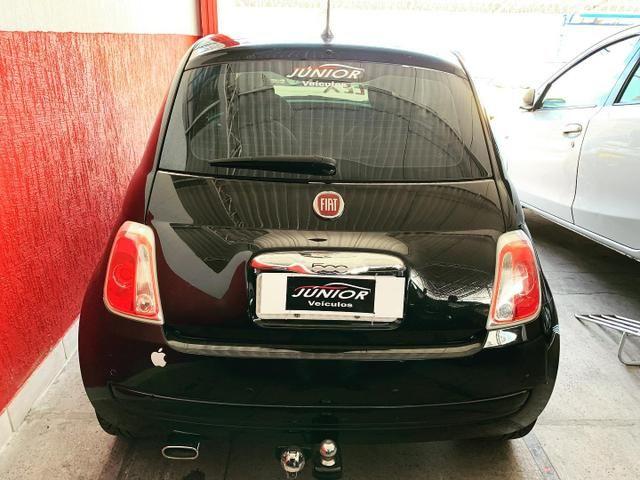 (Júnior Veículos) Fiat 500 1.4 Ano:2012 Completo - Foto 5