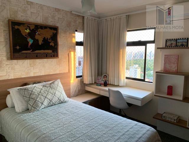 Apartamento com 3 dormitórios à venda, 127 m² por R$ 570.000 - Aldeota - Fortaleza/CE - Foto 16