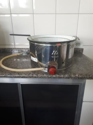 Fritadeira à Gás de aço inoxidável Semi Nova