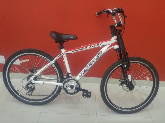Bicicleta Fischer usada 3 meses - Foto 2