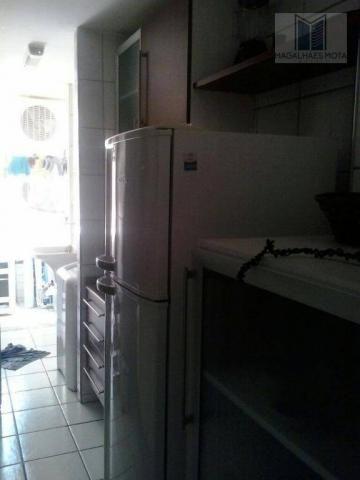 Apartamento com 3 dormitórios à venda, 80 m² por R$ 450.000 - Cocó - Fortaleza/CE - Foto 6