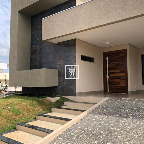 Magnífica casa no Condomínio Mirante do Lago 4 suítes