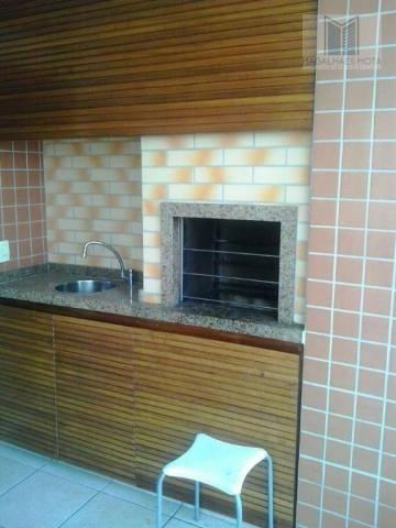 Apartamento com 3 dormitórios à venda, 80 m² por R$ 450.000 - Cocó - Fortaleza/CE - Foto 15