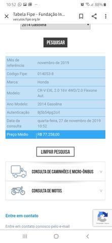 Honda CR-V EXL 2.0 16V 4WD/2.0 FLEXONE AUT - Foto 9