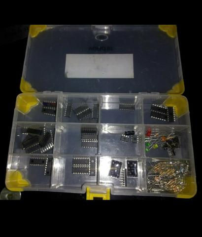 Placa de protótipo de circuitos integrados (Protoboard) Hiraki HK-P300 - Foto 2