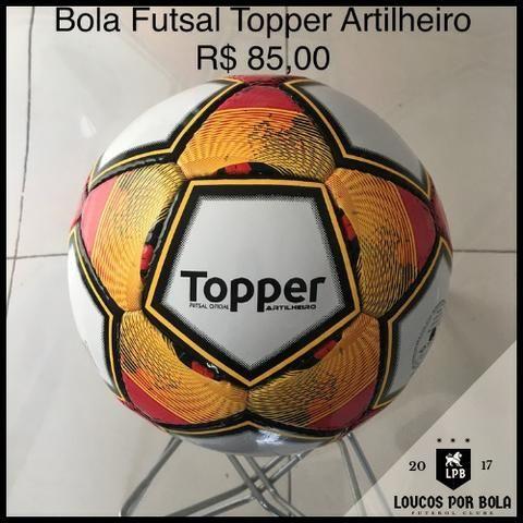 Bola Futsal Topper Artilheiro - Esportes e ginástica - Aleixo ... 077fe3945846e