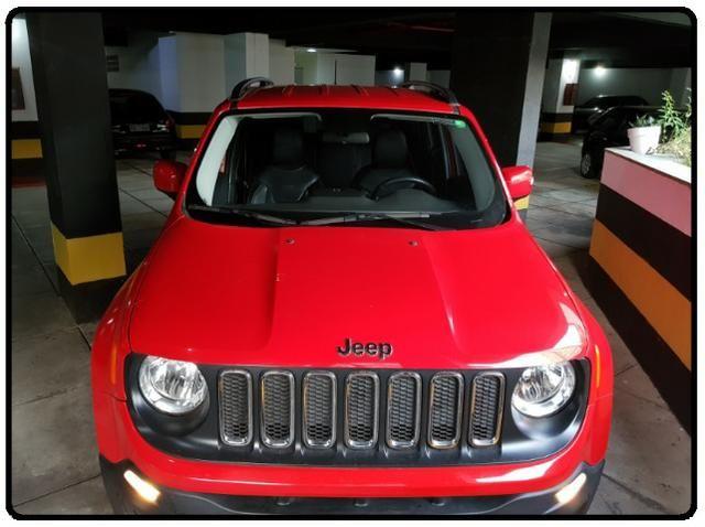 Jeep Renegade Longitude 15/16 36.000km único dono automático docs OK mecânica 100% novo!