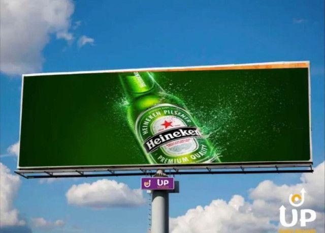 Painel Rotativo Scrolling Giram 6 Propagandas 3 X 9 Outdoor Publicidade - Foto 3