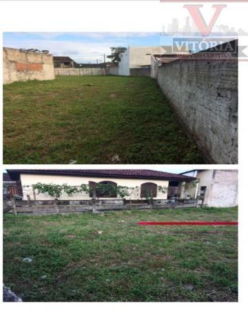 Terreno em Matinhos, Frente para duas ruas - Foto 5