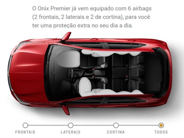 CHEVROLET ONIX 1.0 TURBO FLEX PREMIER AUTOMÁTICO - Foto 8