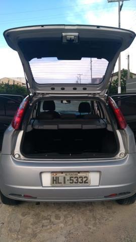 Fiat Punto ELX 1.4 2009/2010 Flex 8V, 5 portas, Cor prata - Foto 6