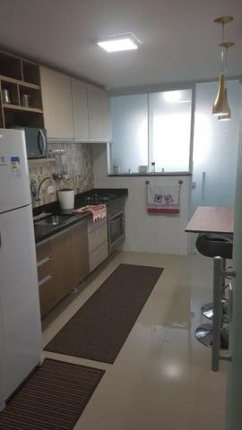 (Thamir) Apartamento 2 dormitórios 150 metros da praia, no bairro da Guilhermina - Foto 6