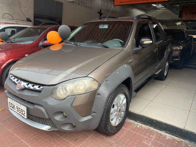 15 fiat strada cd flex 2013 adventure