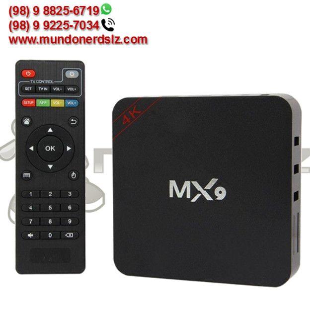 TV Box MX9 4K Ultra HD 4GB Ram + 32GB 5G Wi-Fi Android 10.1 em São Luís Ma - Foto 2