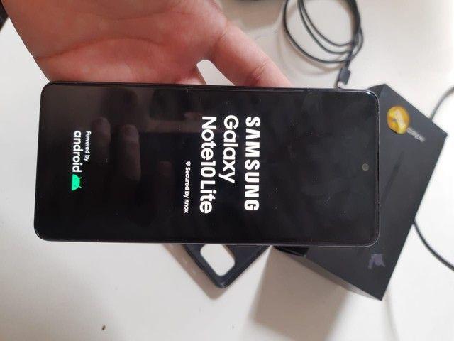 Vendo um Samsung galaxy note 10 Life  - Foto 3