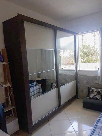 Guarda Roupa Casal 2 Portas e Espelho - Foto 2
