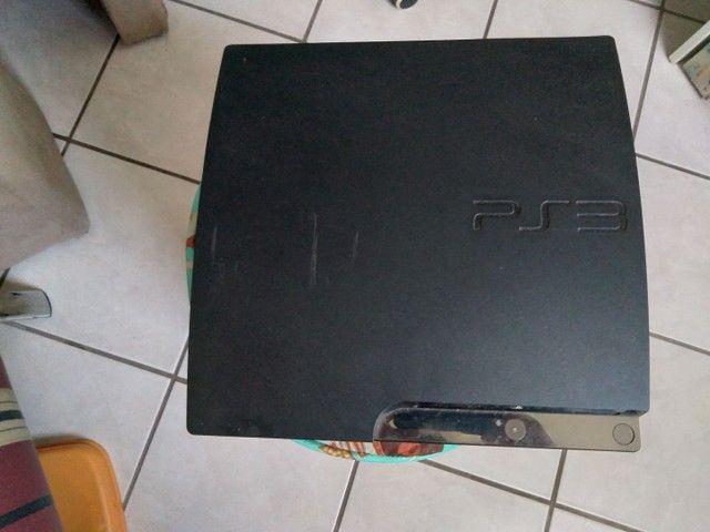 PS3 funciona só no cabo R$ 400